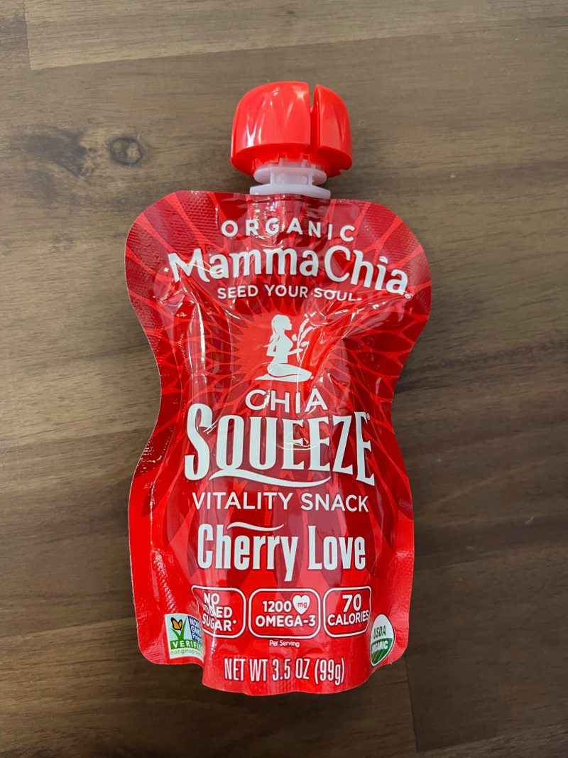 Cherry Love Chia Seed Squeeze