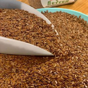 Organic Brown Flax Seed