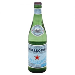 SPellegrino- 16.9 glass