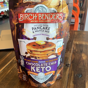 Pancake & Water Mix - Chocolate Chip Keto (non-GMO)