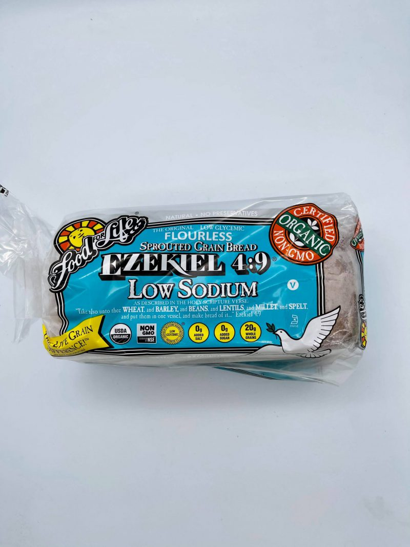 Low Sodium Whole Grain Sprouted Bread