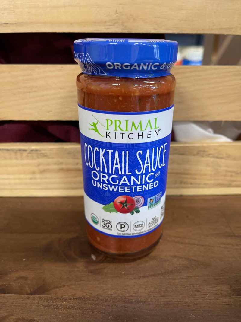 Unsweetened and Organic - Cocktail Sauce