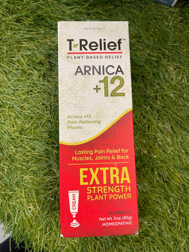 New T -Relief Extra Strength Pain 3oz Gel