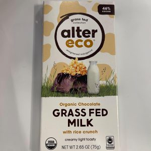 46% Cocoa Grass Fed Milk with Rice Crunch