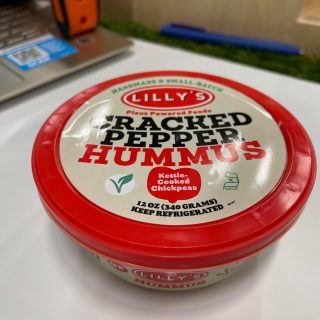 Lilly's Cracked Pepper Hummus