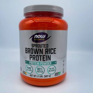 Sprouted Brown Rice Protein - 2 lbs.