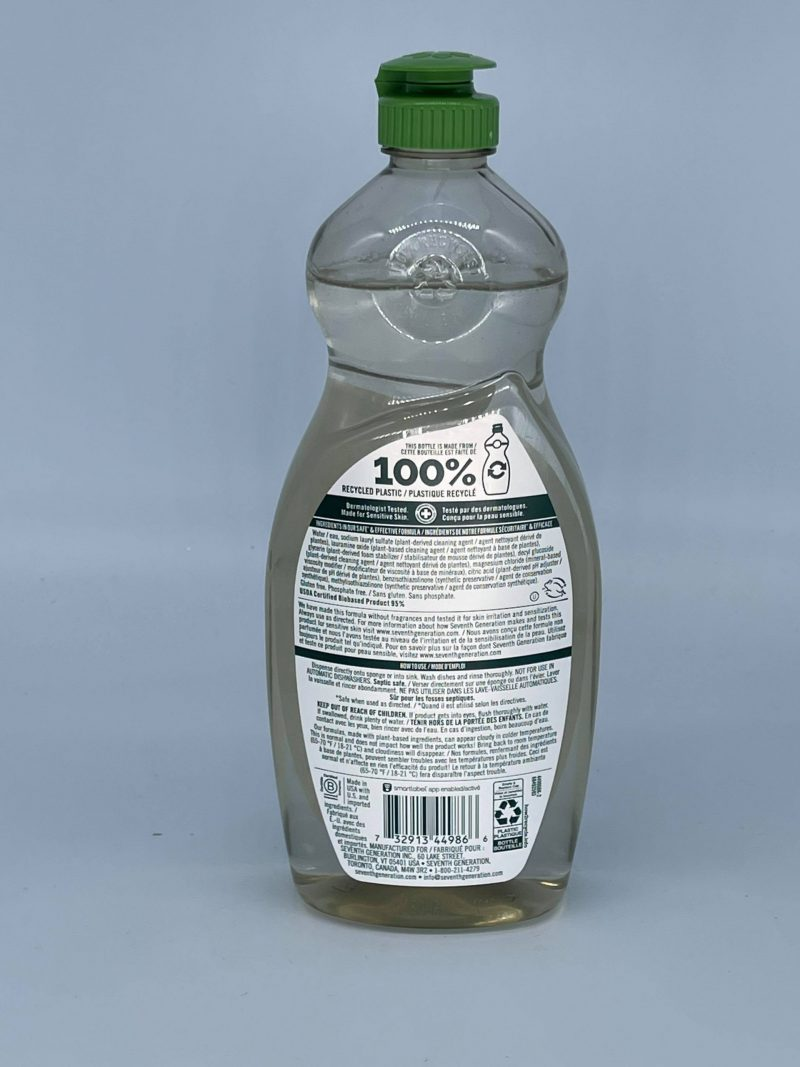 Dish Liquid - Free and Clear