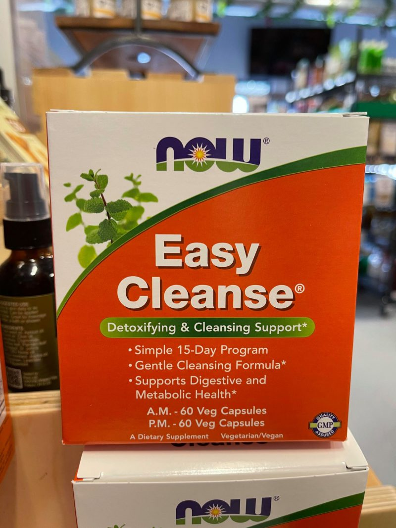 Easy Cleanse AM PM 120 Veg Capsules (2 Bottles with 60 each)