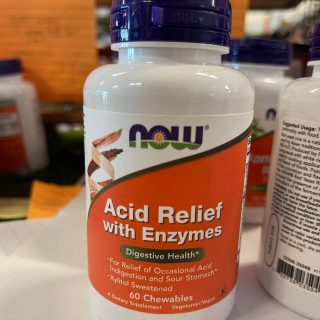 Acid Relief with Enzymes Chewables