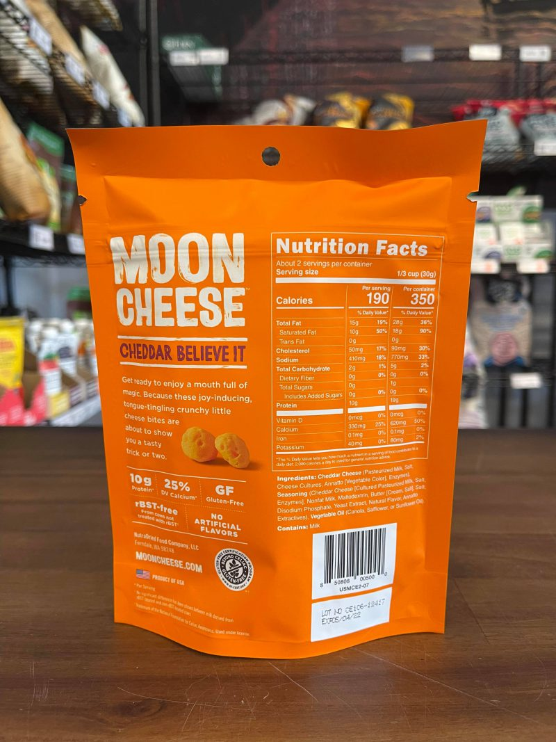 Moon Cheese - Cheddar Believe It
